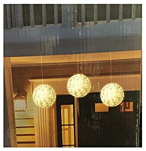 3 pack super bright led spheres christmas lights - Christmas Light Spheres