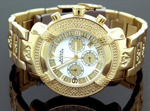 NEW! Aqua Master Men's #96 20-Diamond Watch, Watch Central