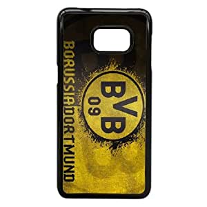Design Durable Phone Cases Cjpqh Samsung Galaxy S6 Edge Plus Cell Phone Case Black BVB Borussia Dortmund Hard Back Cover Protector