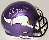 Adam Thielen Signed Autographed Minnesota Vikings Speed Mini Helmet TSE Sports COA & Hologram
