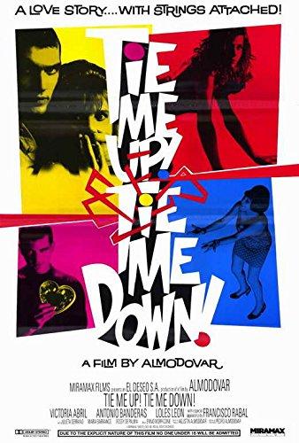 27 x 40 Tie Me Up! Tie Me Down! Movie Poster