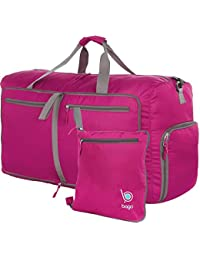 Travel Duffle Bag For Women & Men - Foldable Duffel Bags For Luggage Gym Sports