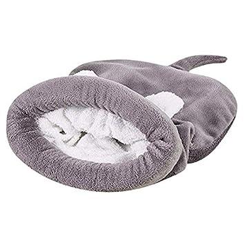 Saco de Dormir del Perro del Gato del Animal Doméstico, Felpa Suave Casa