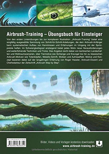 Airbrush-Training: Übungsbuch für Einsteiger: Amazon.es: Hassler, Roger: Libros en idiomas extranjeros