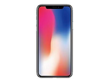 Apple iphone x 64gb silver unlocked amazon electronics apple iphone x 64gb silver solo unlocked stopboris Gallery