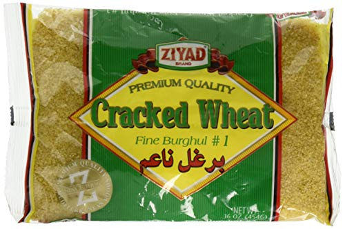 Ziyad Cracked Fine Wheat #1, 16 OZ (Cracked Flour Wheat)
