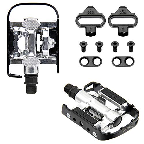 Wellgo Shimano SPD Compatible Multi-Function Mountain Bike Pedal