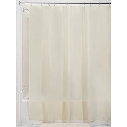 Amazon InterDesign PEVA 3 Gauge Shower Curtain Liner Mold