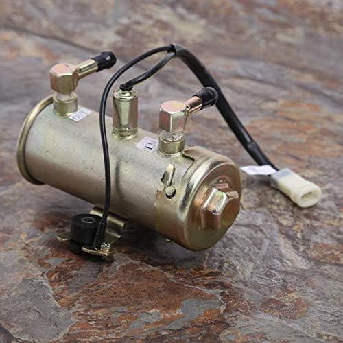 HONGYAN Dauerhaft Facet Red Top Style Motor Treibstoff Benzin Diesel Pump Kit 12V Autoelektrik
