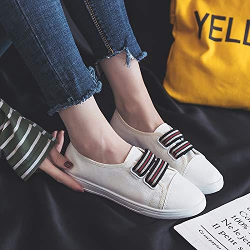 Blanc Chaussures coloré EU Taille 40 Jaune ZHRUI w4zxYZTY