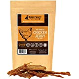 Raw Paws Pet Premium Natural Real Chicken Dog Treats, 16-Ounce - Free Range Chicken Dog Jerky Treats - Inspected & Packed in USA - Antibiotic Free - Protein Packed Lean Chicken Breast Fillets