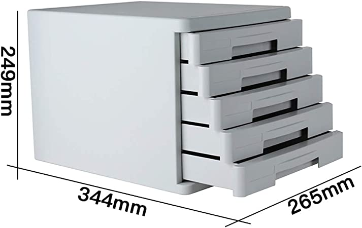 FPigSHS Archivadores de fichas Archivadores Gabinete de Almacenamiento Desktop Tipo de Cajon Gabinete de Datos A4 Material de Oficina el plastico Caja de almacenaje Muebles de Oficina Archivador: Amazon.es: Hogar