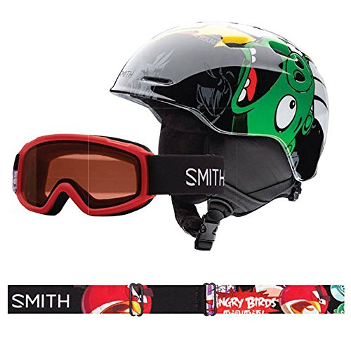 Smith Optics Unisex Youth Zoom Jr with Gambler Combo Snow Sports Helmet