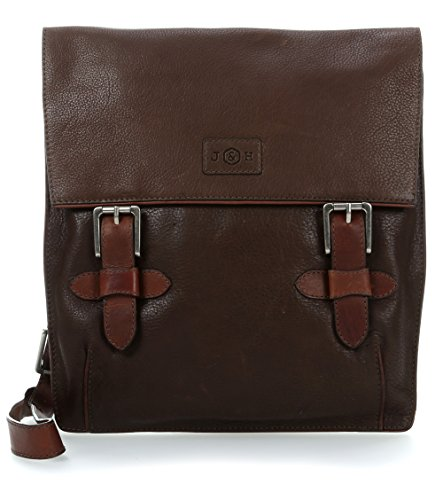 Jekyll & Hide Woodstock 10'' Borsa messenger per laptop mud