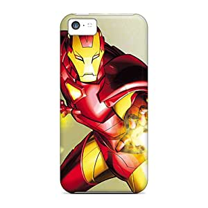 New Iphone 5c Cases Covers Casing(iron Man I4)