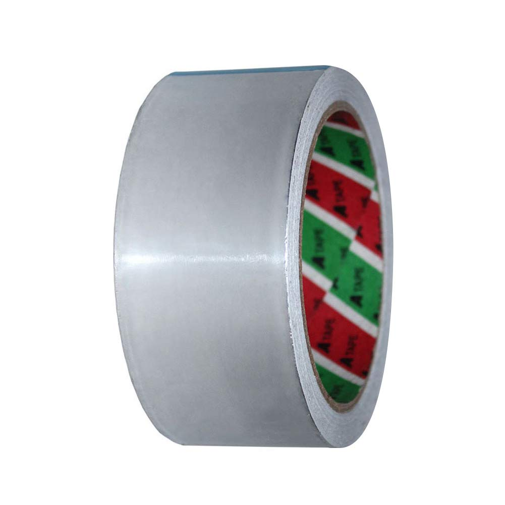 YHLVE Aluminium Foil Tape,High Temp Heat-Resistant Foiled Tape Rolls for HVAC Repair, Ducts, Insulation, Dryers, Jewellery Making Crafts[45mm*20m]