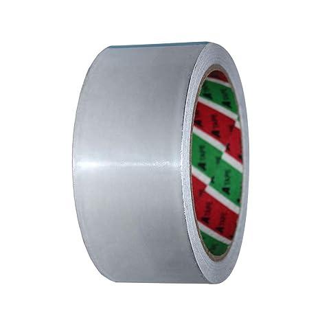 YHLVE Cinta de Aluminio de Alta Temperatura, Resistente al Calor, Rollos de Cinta laminada