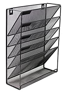 Amazon Com Mesh Wall Mounted Hanging Document Amp File