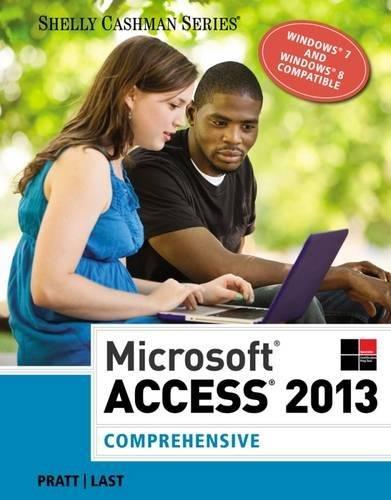 Microsoft Access 2013: Comprehensive (Shelly Cashman Series)