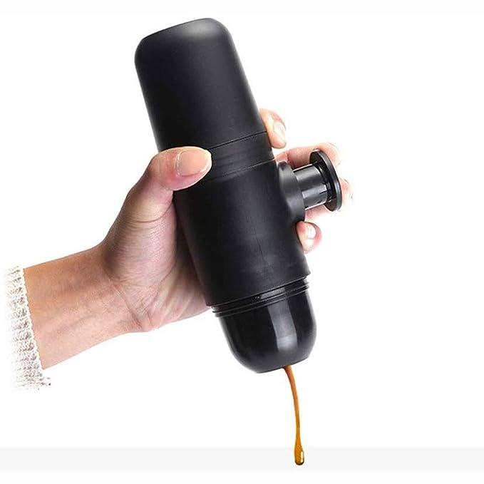 ROLL Mano Portable Cafetera exprés, Mini de Funcionamiento Manual ...