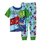 AME PJ Masks Pajama Sleep Wear Set For Toddler Boys (3T)
