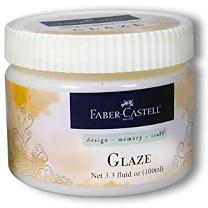Faber-Castell Design Memory Craft Prep & Finish for Texture for Mixed Media, Glaze Medium
