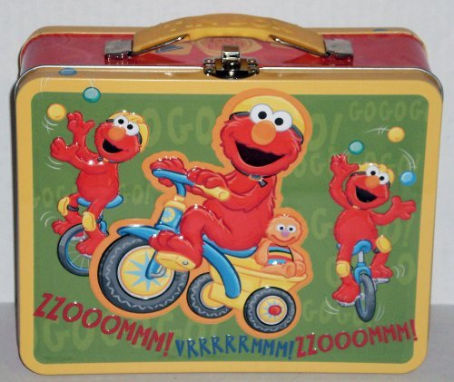 Sesame Workshop Elmo Embossed Metal Lunch Box
