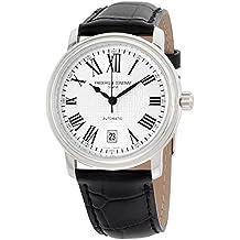 Frederique Constant Classics Silver Dial Leather Strap Men's Watch FC303M4P6