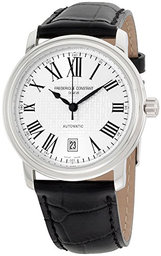 Frederique Constant Classics White Dial Leather Strap Men's Watch FC303M4P6