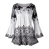 Aritone - women clothes Womens Button Blouse, Short Tunic Top T-Shirt S-2Xl