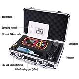 Ultrasonic Thickness Gauge, Digital Thickness Meter Tester, Range 1.2-220mm, with Hard Storage Box