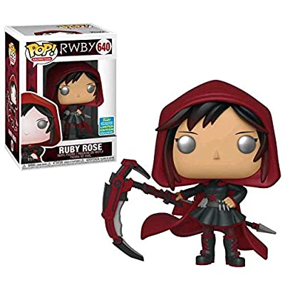 Funko Pop! RWBY Ruby Rose #640 SDCC 2020 Exclusive: Toys & Games