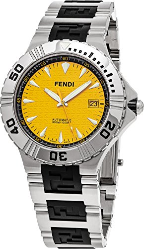 fendi-mens-nautical-swiss-automatic-stainless-steel-dress-watch-colorsilver-toned-model-f495150