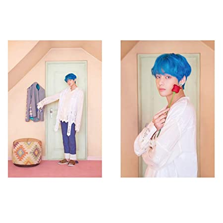 Zhongjiany Kpop BTS Face Yourself P/óster de pared Bangtan Boys Papel pintado Style01
