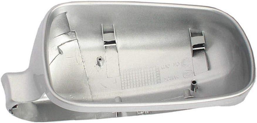 Fangfeen Reemplazo del Casquillo de la Cubierta Cover Negro Coche Lateral Derecho Espejo retrovisor para 4 MK4 99-04 3B0857538B