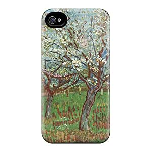 New Fashionable Dana Lindsey Mendez XyUTHgm4150inXxQ Cover Case Specially Made For Iphone 4/4s(fruit Garden With Flowering Apricot)