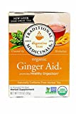 Traditional Medicinals Organic Ginger Aid Herbal Tea – 16 Tea Bags For Sale