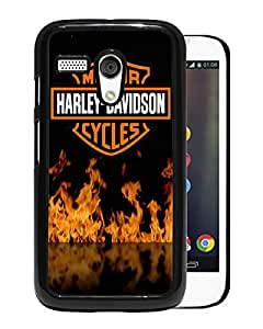 Harley Davidson For Moto G Case Black Case Cover