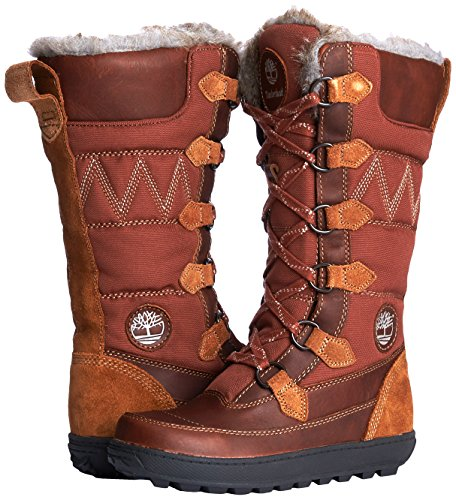 Timberland Mukluk 12-inch, Women's Combat Boots, Brown, 6.5 UK:  Amazon.co.uk: Shoes & Bags