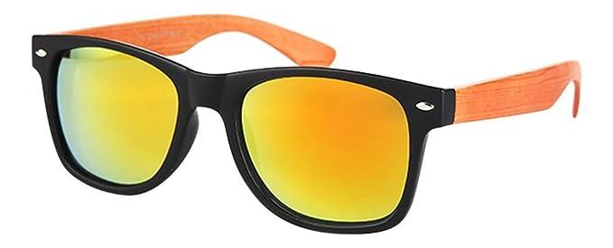 Palleon - Lunettes de soleil - Homme - orange - XvSJJUa