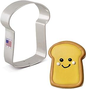 Ann Clark Cookie Cutters Slice of Bread Cookie Cutter, 3.75