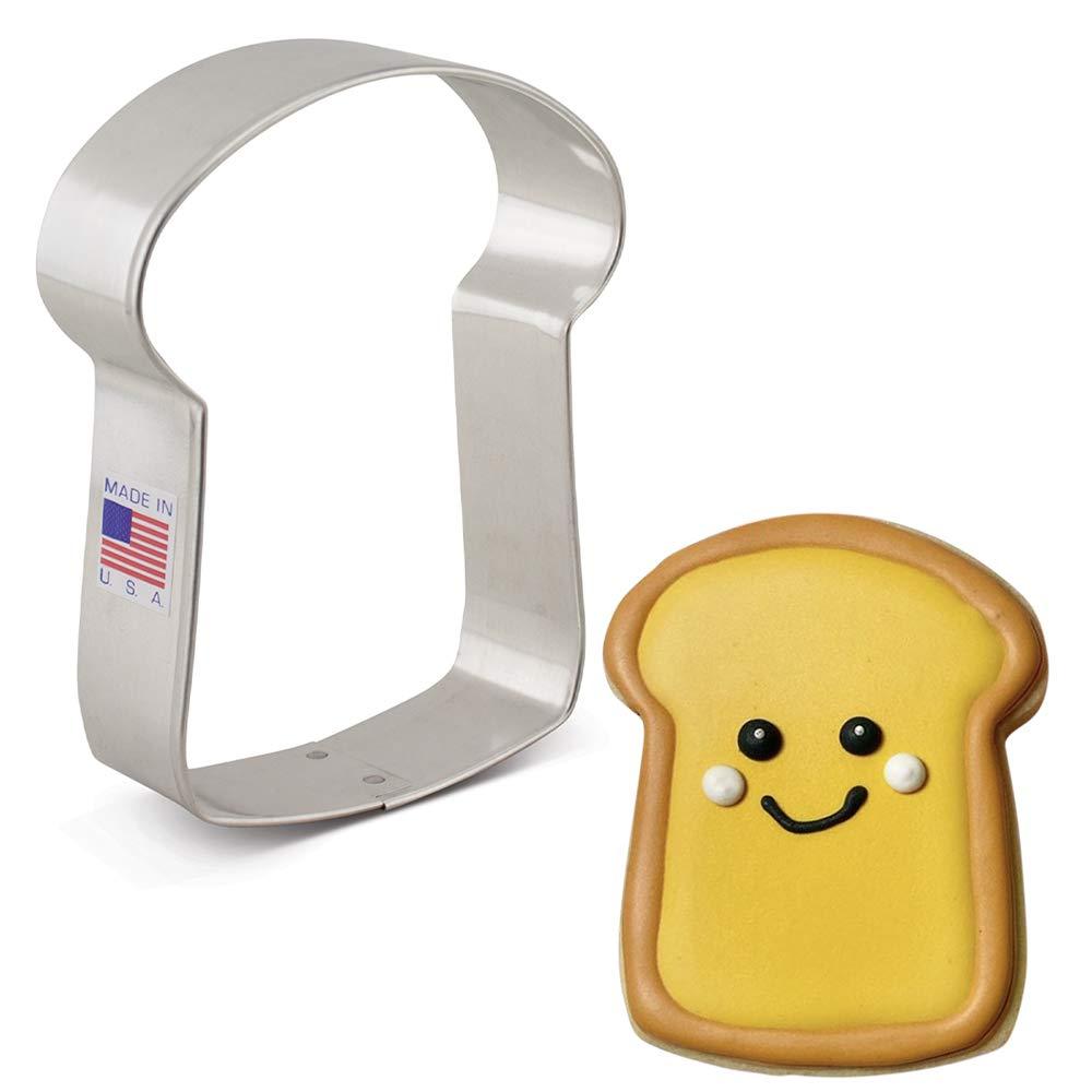"Ann Clark Cookie Cutters Slice of Bread Cookie Cutter, 3.75"""