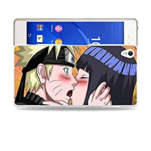 Case88 Designs Naruto & Hinata Protective Snap-on Hard Back Case Cover for Sony Xperia Z3