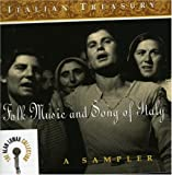 Italian Treasury: Folk Music & Song of Italy