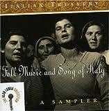 Italian Treasury: Folk Music & Song of Italy