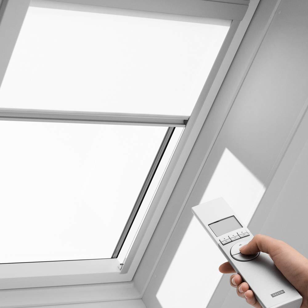 GPL GTL_25393 VELUX Orignal Sichtschutzrollo RML S10 1028/Bedienart : Elektrisch/Farbe : Uni Weiß/Fenstergröße : 610/Fenstertypen : GGL GHL