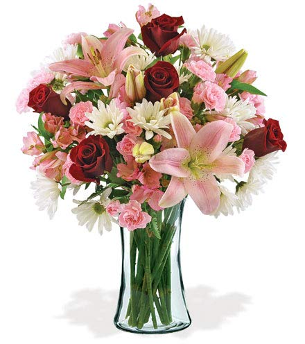 Patriotic Sympathy Arrangement - Deepest Condolences Bouquet