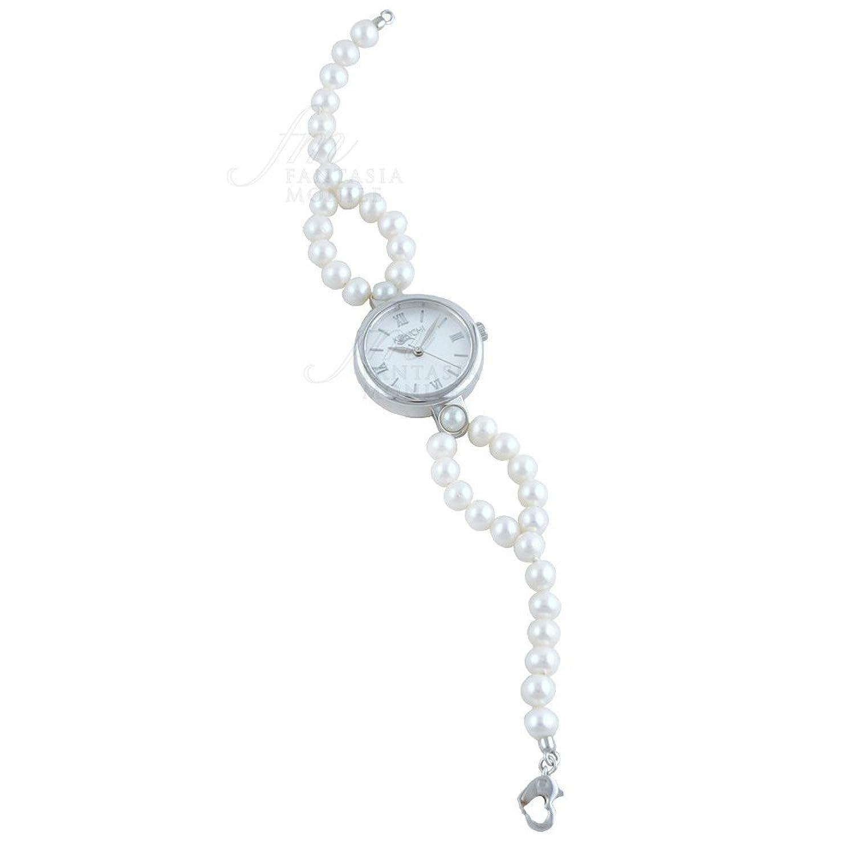 Uhr Kokichi Armband Zuchtperlen Freshwater Zifferblatt rÖmische Ziffern sbhq9fm