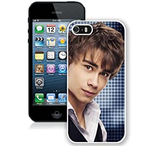 Beautiful Designed Cover Case With Aleander Rybak Vest Shirt Look Background (2) For iPhone 5S Phone Case