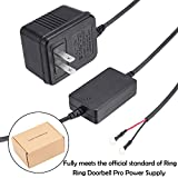 Power Supply Adapter Transformer for Ring Video Doorbell Pro by JOYEAN
